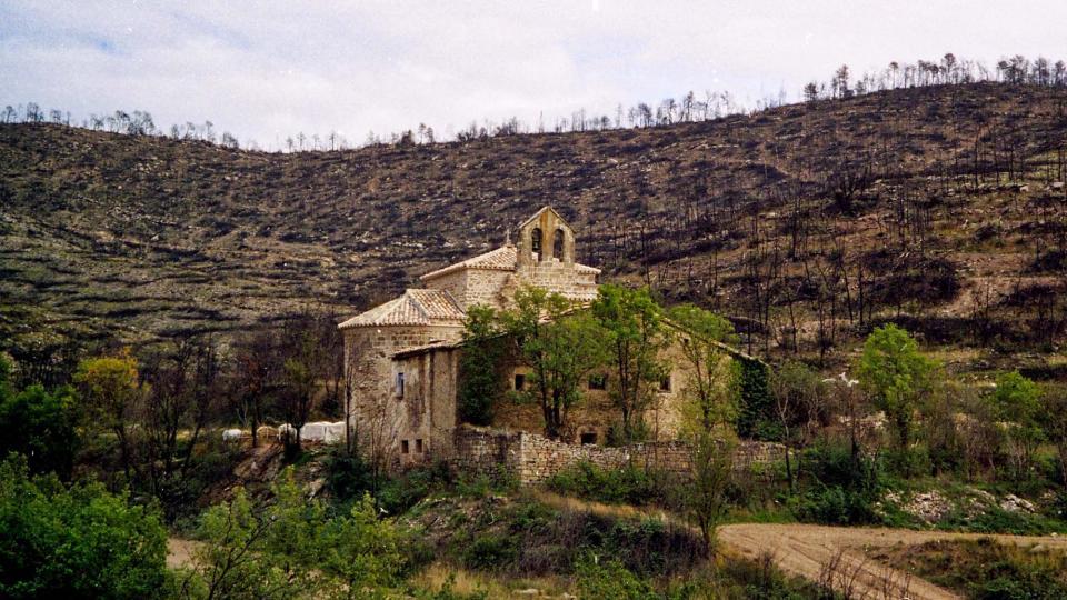 24.07.1998 Entorn del monestir  Cellers -  Ramon Sunyer