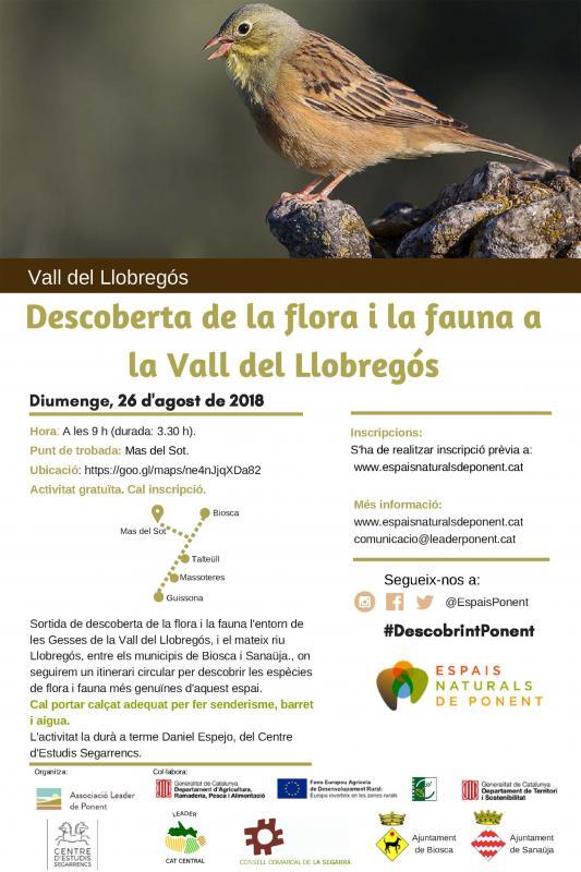 Descoberta de la flora i la fauna a la Vall del Llobregós