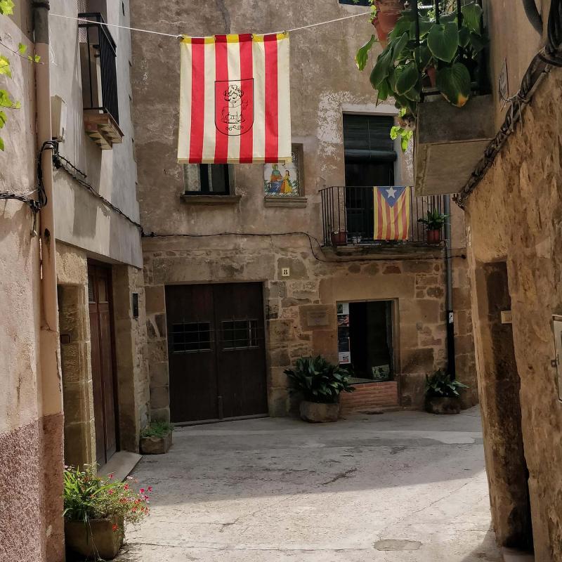 30.08.2018 Carrers del poble  Torà -  Ramon Sunyer