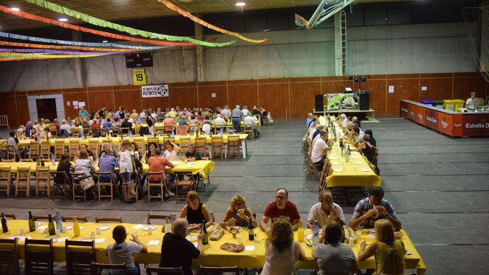 30.08.2018 Sopar de germanor  Torà -  Ramon Sunyer
