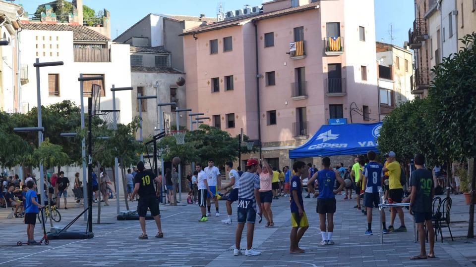31.08.2018 3x3 Bàsquet  Torà -  Ramon Sunyer