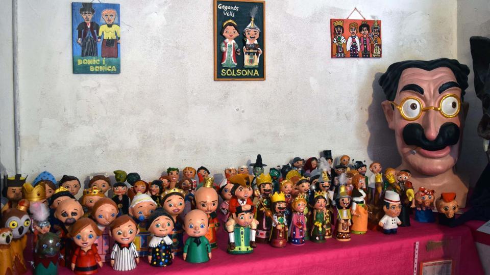 31.08.2018 3a. Exposició de Gegants d'Arnau Pinós  Torà -  Ramon Sunyer