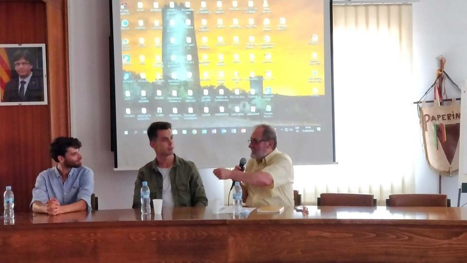 """31.08.2018 Presentació del llibre: """"1 d'Octubre Basat en fets reals""""  Torà -  Ramon Sunyer"""