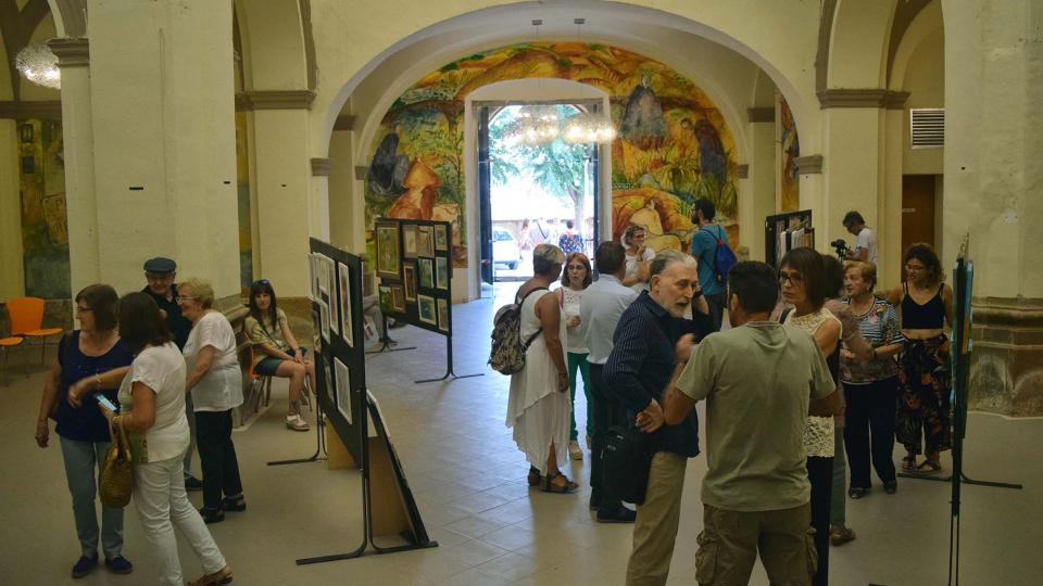 02.09.2018 Exposició col·lectiva: DONES QUE PINTEN  Torà -  Ramon Sunyer