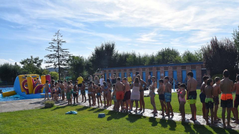 02.09.2018 Inflables aquàtics  Torà -  Ramon Sunyer
