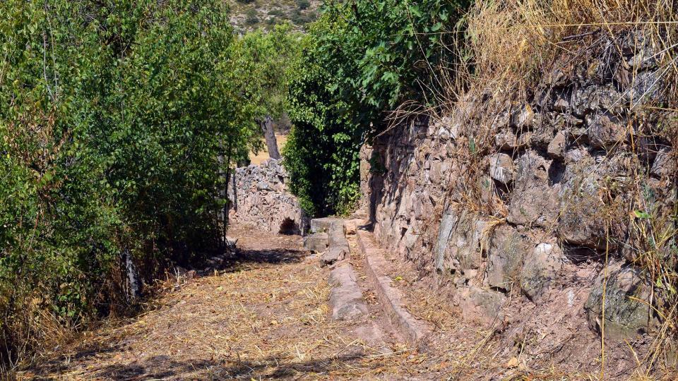 09.07.2017 Aqüeducte dels Frares  Torà -  Ramon Sunyer