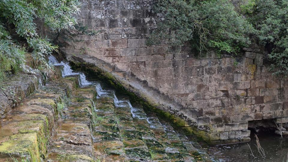 Espai fluvial Peixera de Ribelles - Autor Ramon Sunyer (2018)