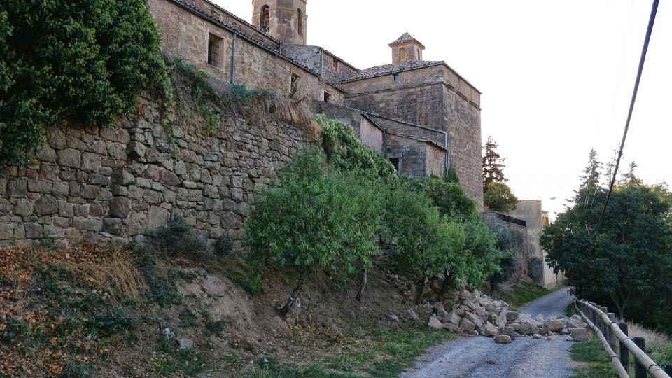 01.10.2018 part de la muralla  Torà -  Ramon Sunyer