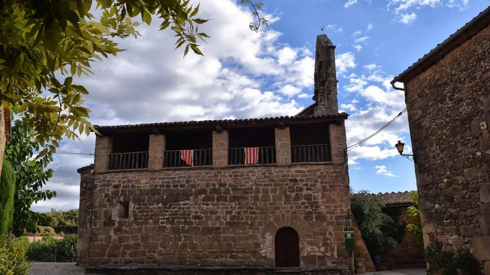 07.10.2018 Església de Santa Maria  Claret -  Ramon Sunyer