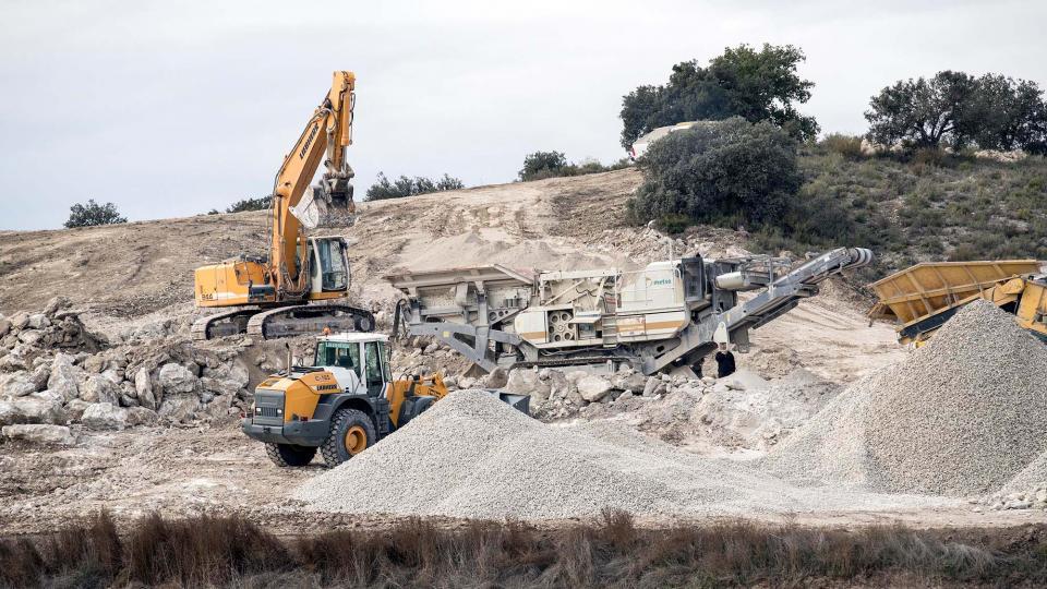 Knauf explotarà durant trenta anys el guix de 42 hectàrees de Biosca