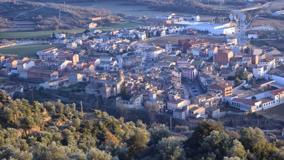 13.01.2019 Vista de Torà  L'Aguda -  Ramon Sunyer