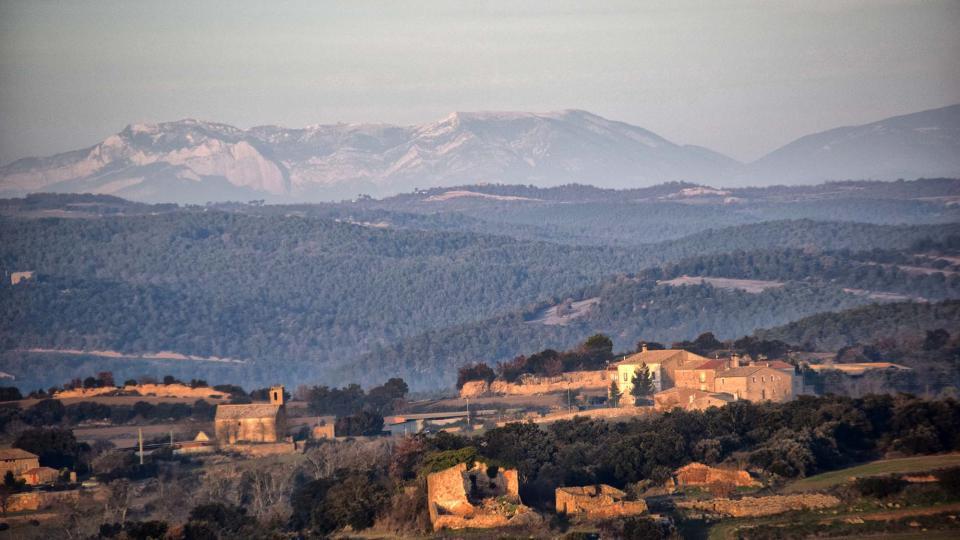 04.01.2019 vista del nucli  Sant Serni -  Ramon Sunyer