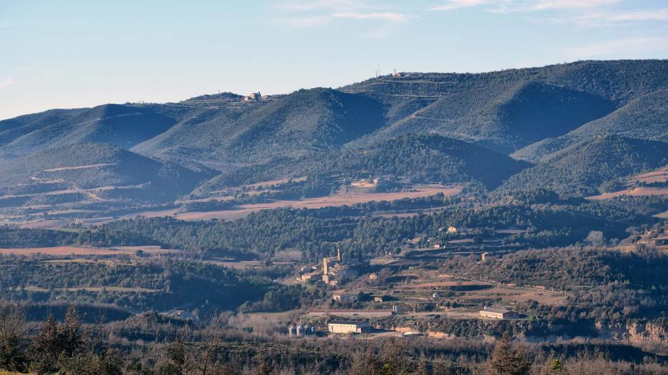 31.12.2018 Vista des de Prades  Vallmanya -  Ramon Sunyer