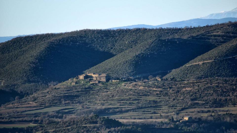 31.12.2018 Vista des de Prades  Pinós -  Ramon Sunyer