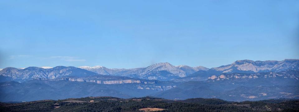 31.12.2018 Panoràmica del Pedraforca  Pinós -  Ramon Sunyer
