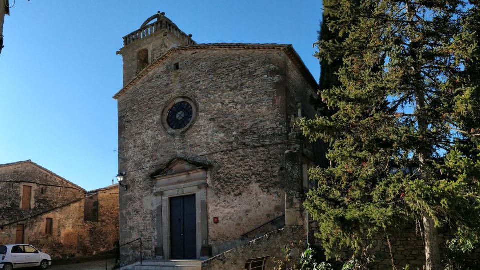 31.12.2018 Església de Sant Pere  Vallmanya -  Ramon Sunyer