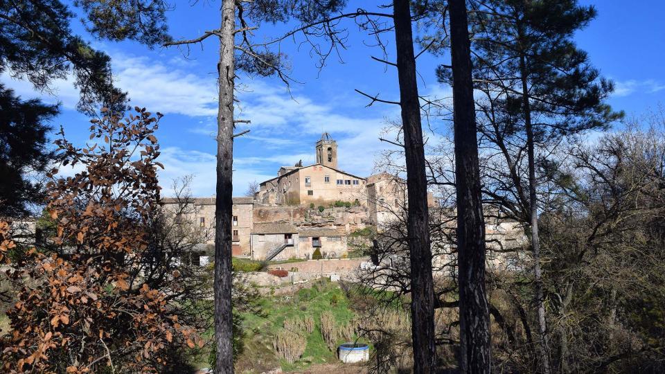 31.12.2018 vista del nucli  Vallmanya -  Ramon Sunyer