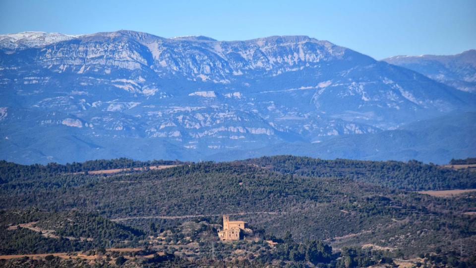 31.12.2018 Vista des de Castelltallat  Matamargó -  Ramon Sunyer