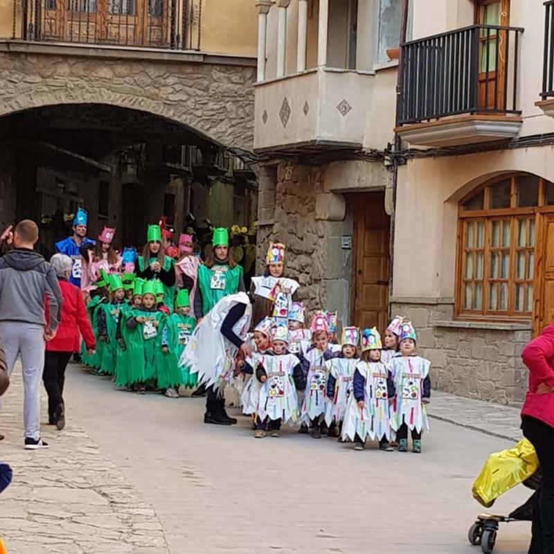22.02.2019 Rua Infantil de la Llar d'infants  Torà -  Jan_Closa