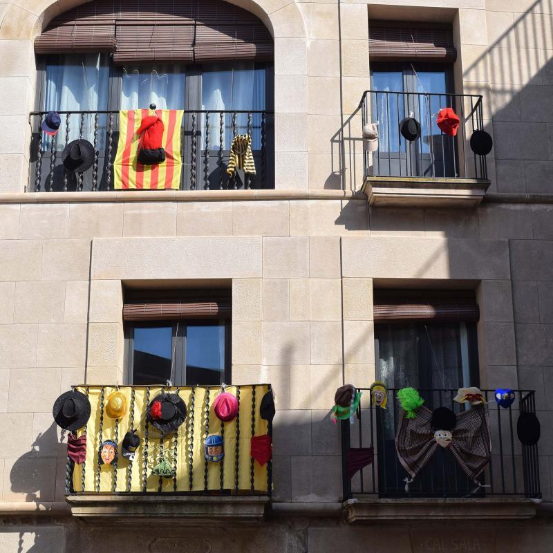 23.02.2019 Balcons guarnits  Torà -  Ramon Sunyer
