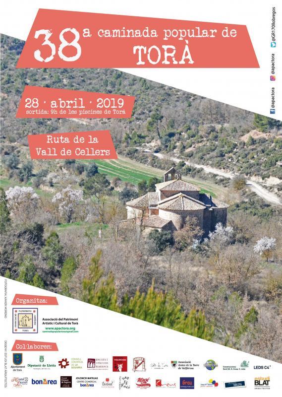 Caminada 38a Caminada Popular de Torà 'Ruta de la Vall de Cellers'