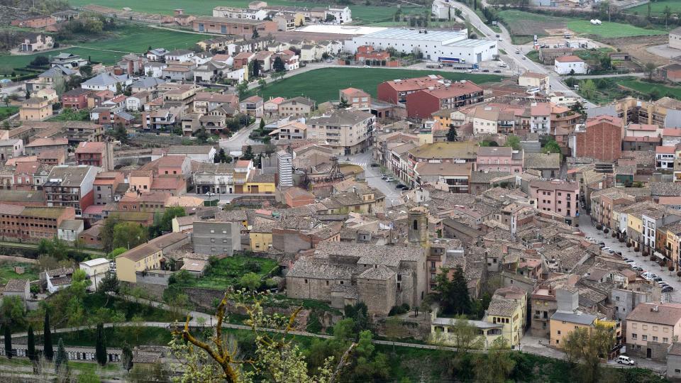 22.04.2019 Vista del poble des de l'Aguda  Torà -  Ramon Sunyer