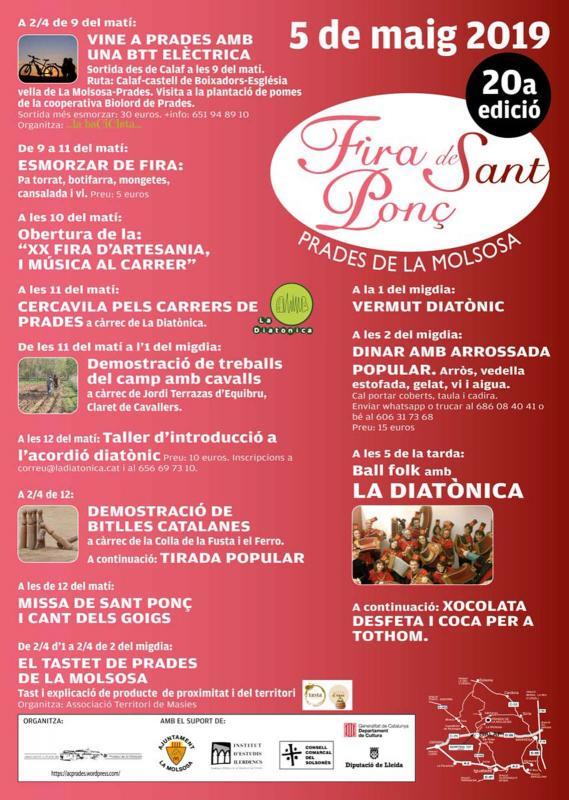 Fira de Sant Ponç 2019