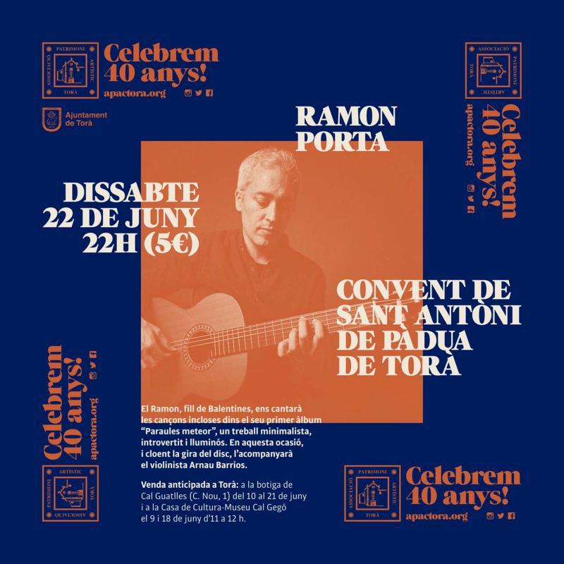 Concert de Ramon Porta