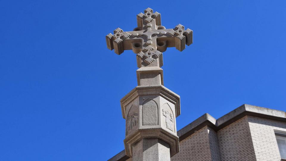 Cruz de término Sant Ramon - Autor Ramon Sunyer (2019)