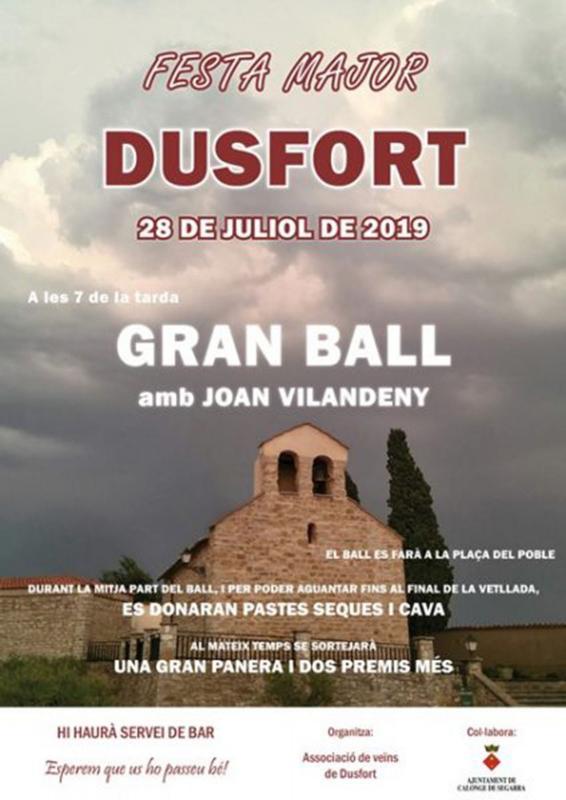 Festa Major de Dusfort 2019