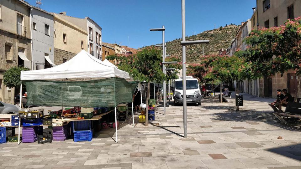 16.08.2019 Mercat del divendres  Torà -  Ramon Sunyer
