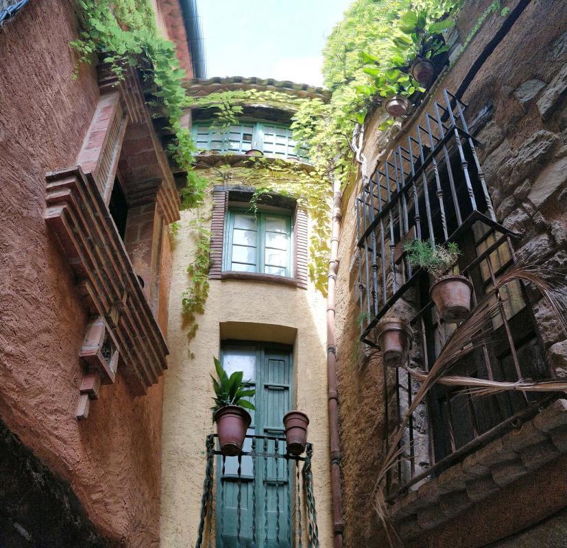07.08.2019 carrer Sant Sebastià  Torà -  Ramon Sunyer