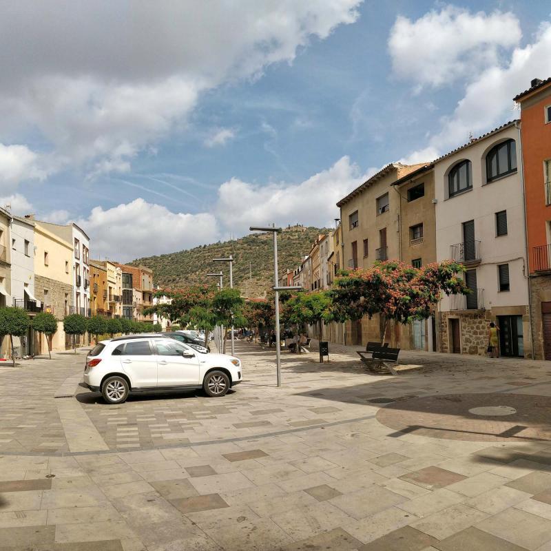 07.08.2019 Plaça del Vall  Torà -  Ramon Sunyer