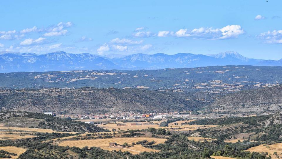 10.08.2019 Vista de Torà des de Vicfred  Torà -  Ramon Sunyer