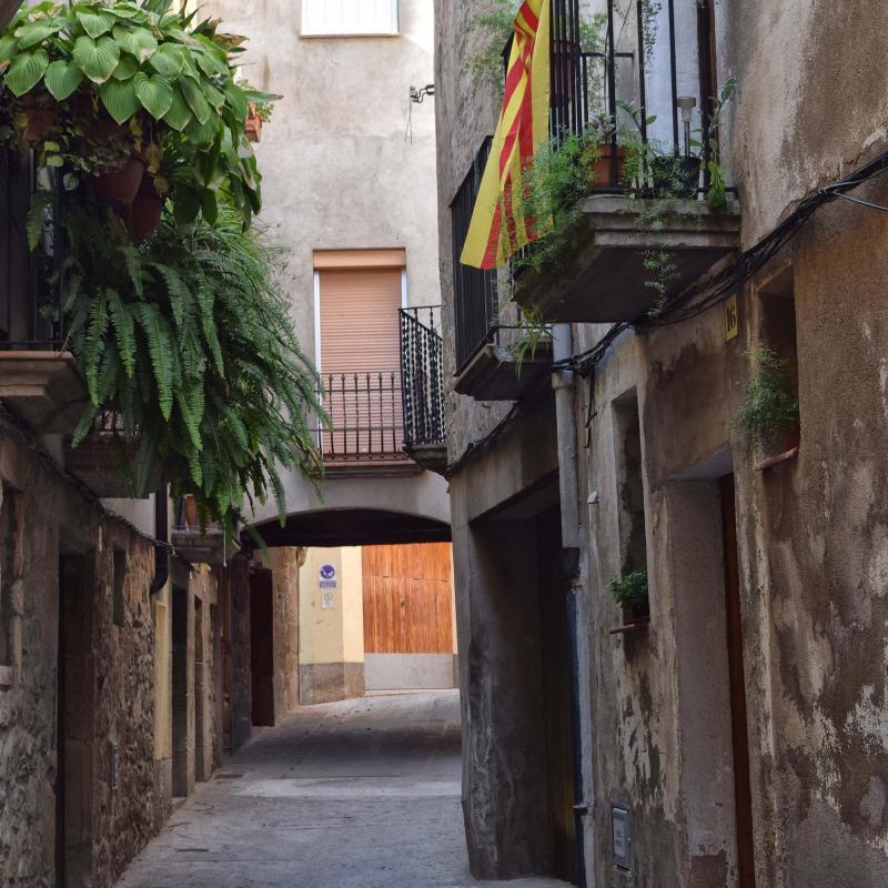 29.08.2019 Carrer Baix  Torà -  Ramon Sunyer