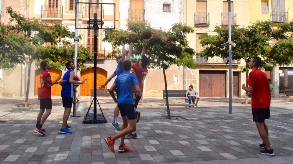 30.08.2019 3x3 basquet  Torà -  Ramon Sunyer