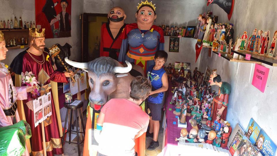 30.08.2019 Exposició de gegants  Torà -  Ramon Sunyer