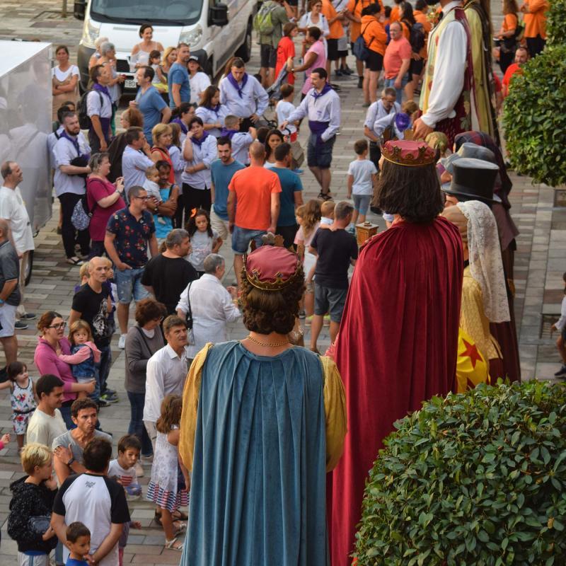 31.08.2019 Trobada de gegants  Torà -  Ramon Sunyer