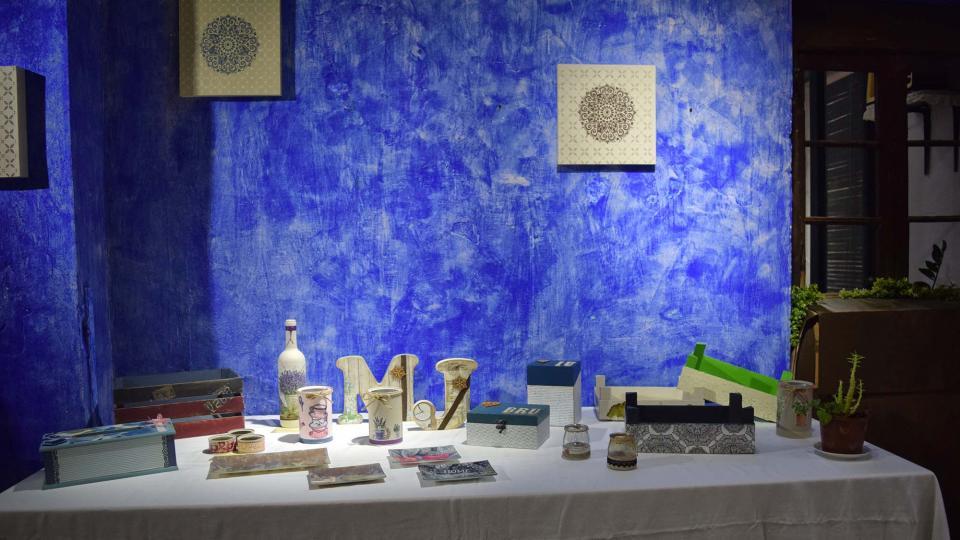 30.08.2019 Exposició de manualitats  Torà -  Ramon Sunyer