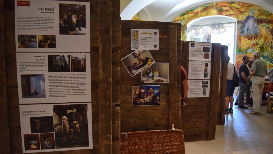 31.08.2019 Exposició 40 anys de Patrimoni  Torà -  Ramon Sunyer