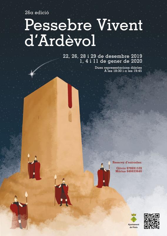 cartell Pessebre vivent d'Ardèvol 2019