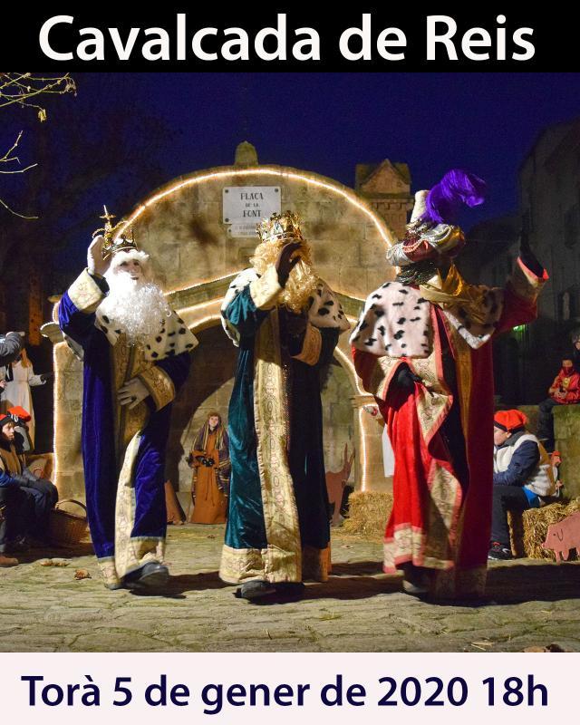 Cavalcada de Reis a Torà
