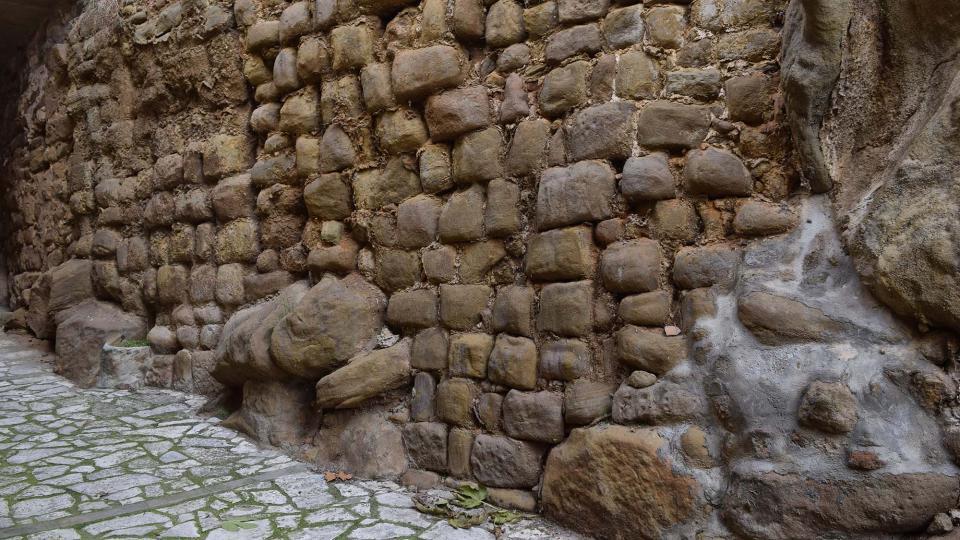 08.12.2018 muralla  Biosca -  Ramon Sunyer