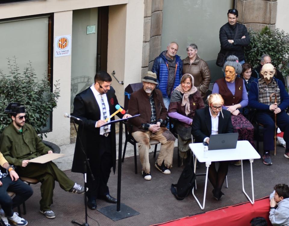 15.02.2020 Pregó festa Brut i Bruta  Torà -  Xavier Sunyer