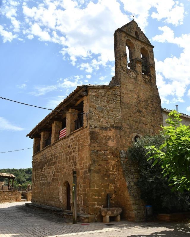 09.08.2020 Església de Santa Maria  Claret -  Ramon Sunyer