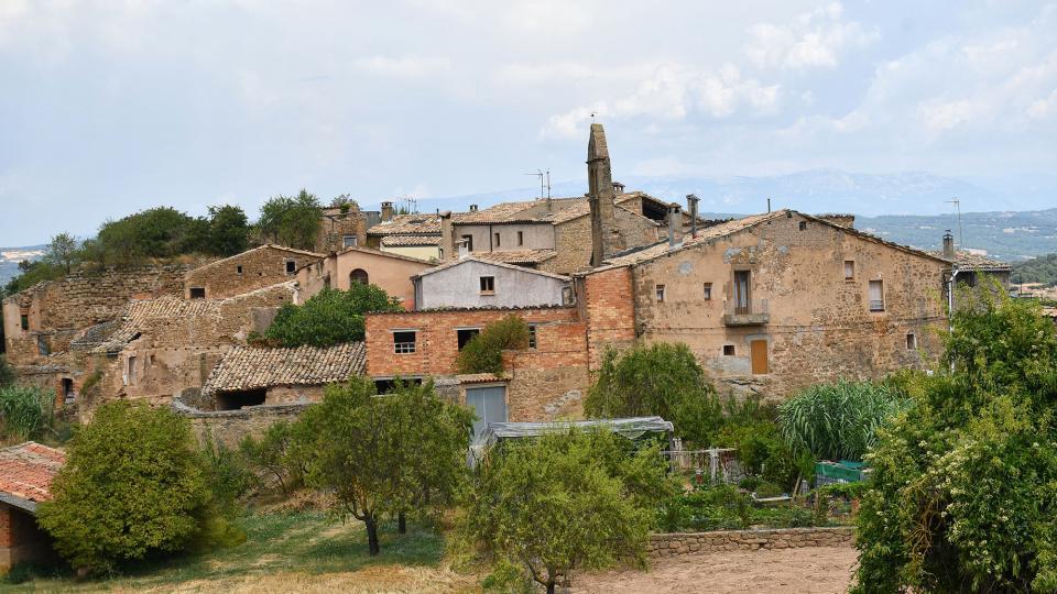 09.08.2020 vista del poble  Claret -  Ramon Sunyer