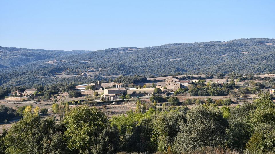 18.10.2020 vista del poble  Sant Serni -  Ramon Sunyer