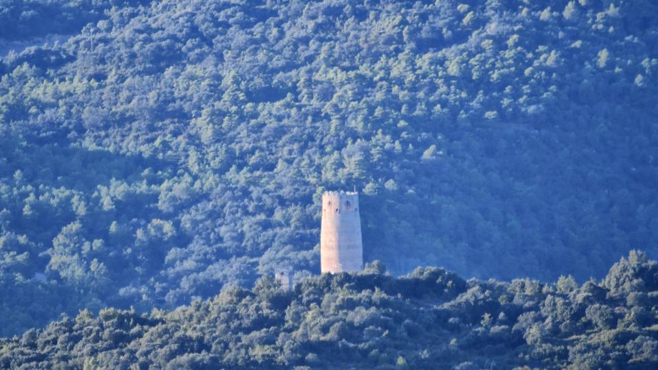 18.10.2020 vista de la torre de Vallferosa  Sant Serni -  Ramon Sunyer