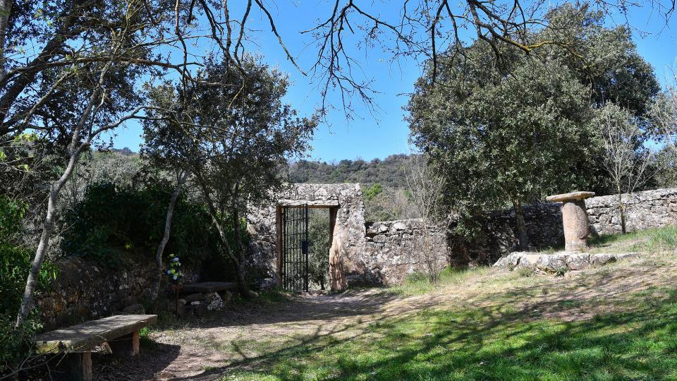 05.04.2021 Cementiri  Vallferosa -  Ramon Sunyer