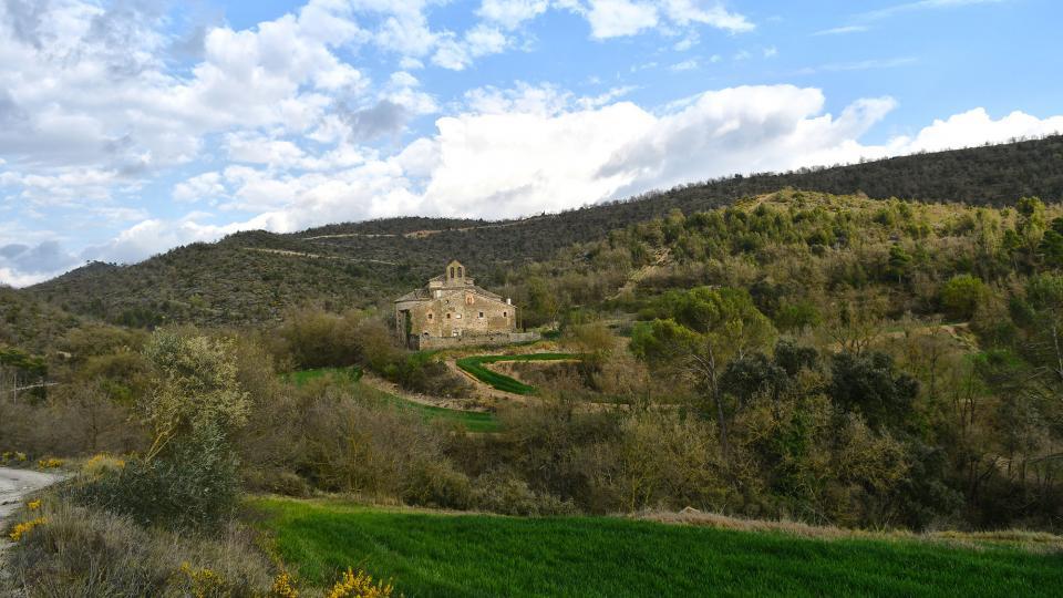 04.04.2021 Monestir de Sant Celdoni i Sant Ermenter  Cellers -  Ramon Sunyer
